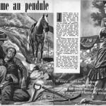 Illustration d'Arthur Piroton pour un roman de Charles Jadoul alias Cary Page, paru dans le n°1924 de Bonnes Soirées, en 1958.