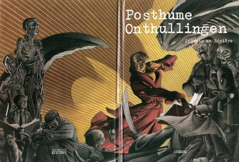 Couverture de l'édition néerlandaise de « Révélations posthumes ».