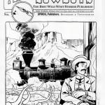 Encrage original pour le visuel de couverture du fascicule n°9 (Ed. Dupuis, août 2012)