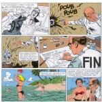 Parodie de « Jess Long » dans un dernier récit de cinq planches scénarisées par Jean-Louis Janssens et publié dans le n°2979 (du 17 mai 1995) de Spirou : « L'ombre du lapin ».