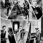 L'une des 116 planches originales de « Joseph Balsamo » réalisées pour Cino Del Duca, entre 1957 et 1958, et restées, finalement, inédites.