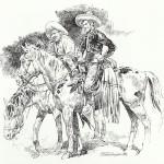 Hommage au « Cisco Kid » de José-Luis Salinas publié dans Il Fumetto, en 1984.