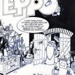 Encrage original pour la couverture du magazine Eppo n°39  en 1978