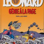 """Couverture du hors-série """"Génie à la page"""" (Lombard, 2003)"""