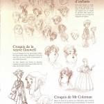 Le train des Orphelins étude de personnages