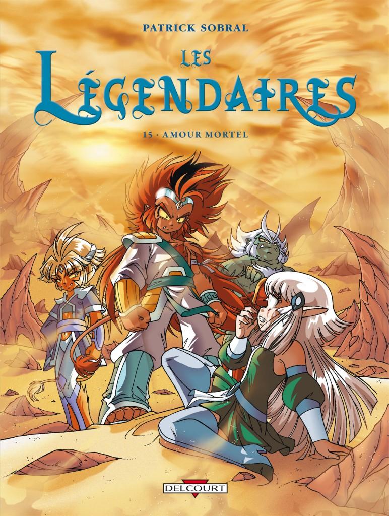 Les Légendaires 15 couverture