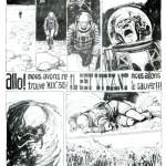 Première page de « Allo ! Nous avons retrouvé M.I.X.315 il est vivant » ; vous pouvez admirer l'intégralité de cette histoire sur http://neuviemeart.citebd.org/spip.php?article452.