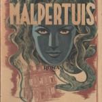 Couverture de l'édition originale de « Malpertuis », en 1943.