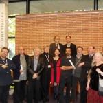Les membres du  jury présents à Blois.
