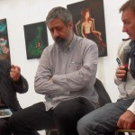 Joël Dubos, Guy Raives et Éric Warnaut.