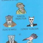 Théo Toutou les personnages