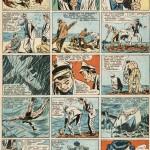 Page de « 20° de latitude sud » parue dans le n°240 de Vaillant, du 19 décembre 1949.