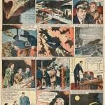La première page des « Pionniers de l'espérance », parue dans le n°45 de Vaillant, du 14 décembre 1945.