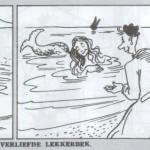 33ème aventure de « Pateetje » : « Le Gourmet amoureux », dans Averbode's Weekblab, en 1947.