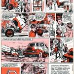 « Meudon : les essais » bande publicitaire de deux pages parue dans le n°363 de Pilote du 6 octobre 1966.