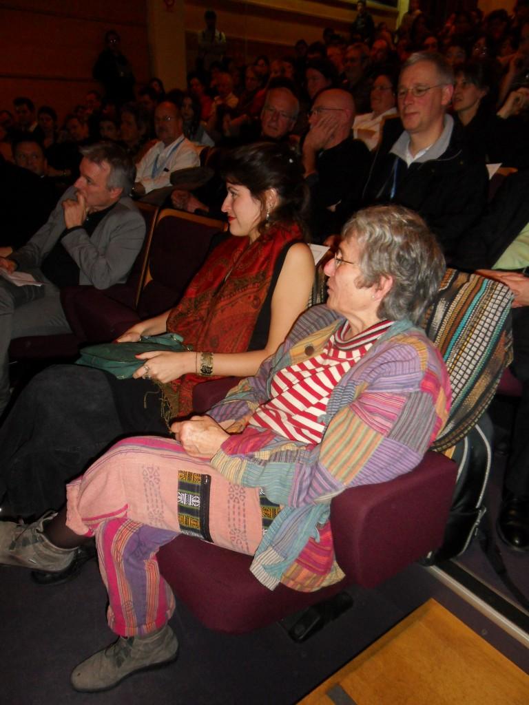 Bernadette Desprès dans le public.