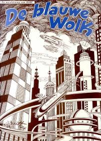 «De Blauwe Wolk : de wereldramp van 6491») [«Le Nuage bleu : la catastrophe mondiale de 6491)]  - 1946.