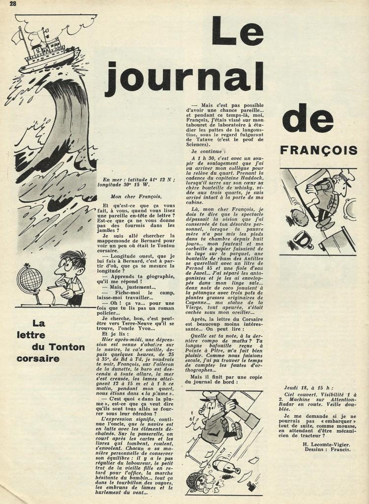 Journal de François