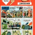 1ère page de Spirou n° 1034 (6 février 1958)