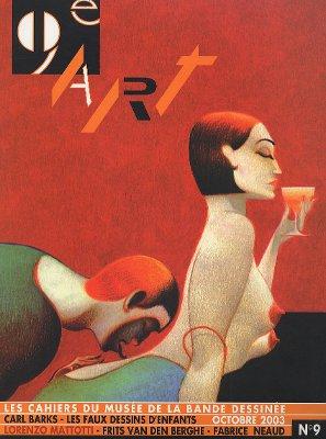 9e Art : les cahiers du musée de la bande dessinée n°9 (octobre 2003).