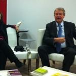 Teresa Cremisi et Antoine Gallimard (©actualitte.com)