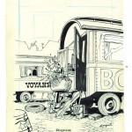 Encrage original de Franquin.