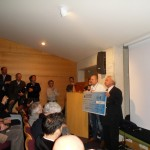 Serge Ernst récompensé par le prix du Conseil général.