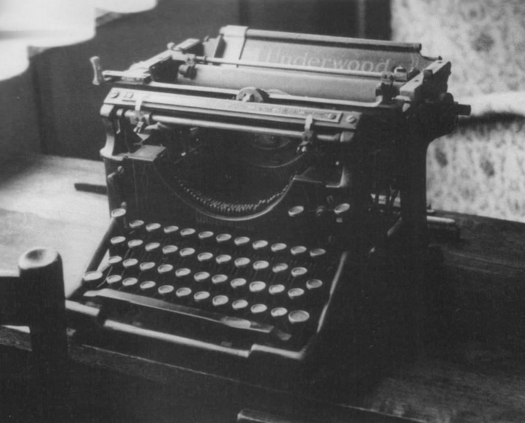 La machine à écrire de Jean Ray.