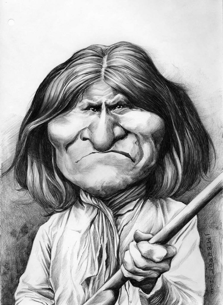 Geronimo vu par Jean-Marc Borot .