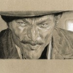 Lee Van Cleef vu par Thomas Lebeltel.