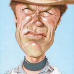 Clint Eastwood par Jean Mulatier.