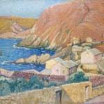 Une peinture de son grand-père maternel, Pierre-Gaston Rigaud.