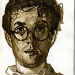 Autoportrait d'Emmanuel Guibert.