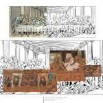 """Etapes de conception pour la couverture du coffret des tomes 13 à 16 de """" Trolls de Troy """""""
