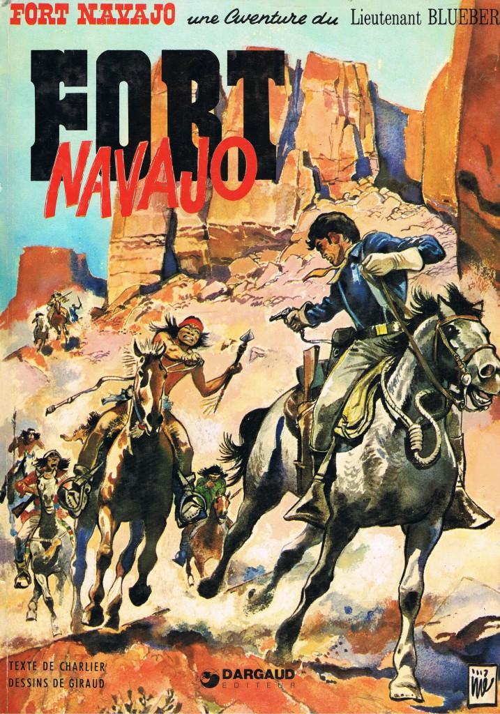 """1er plat pour """"Fort Navajo"""" (rééd. 1968 par Dargaud)"""