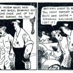 Un Daily Strip de « Gasoline Alley » de Frank O. King.