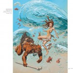 """Illustration de couverture pour le coffret des tomes 1 à 4 de """" Trolls de Troy """""""