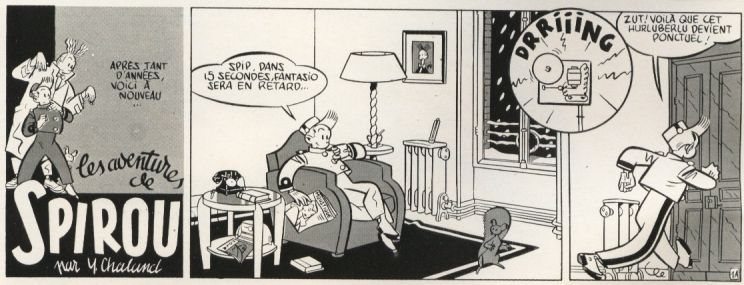 Strip par Yves Chaland