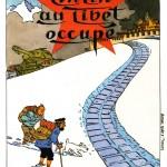 """"""" Tintin au Tibet occupé """" par  Cosey"""