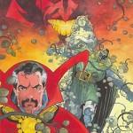 Mike Mignola, pas si éloigné de Caza, dans le Graphic Novel Marvel  « Doctor Strange and Doctor Doom : Triumph and Torment ».