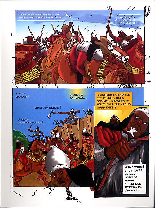 « Soundjata, la bataille de Kirina » par Biyong Djehouty