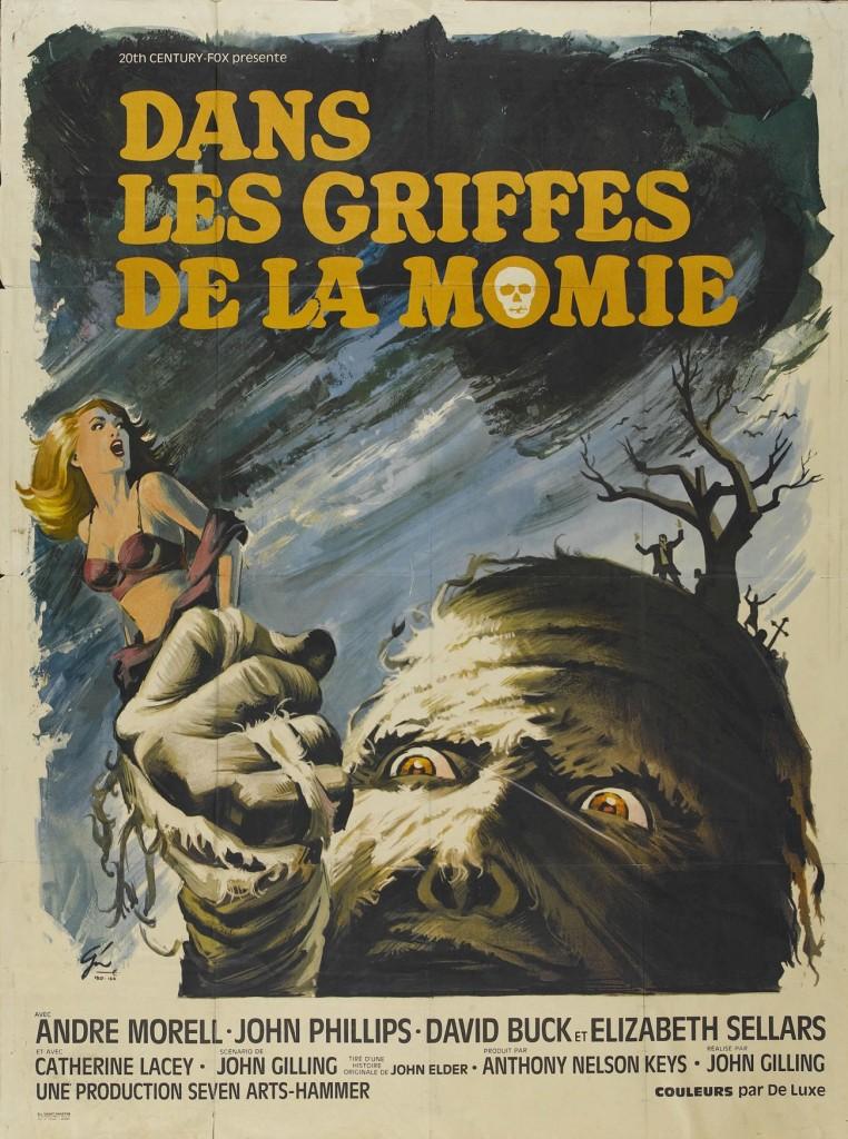 -DANS LES GRIFFES DE LA MOMIE 1967