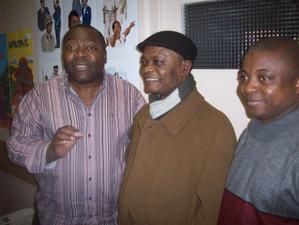 Serge Diantantu, Mangobo et  Alix Fuilu.