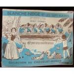 Walt-Disney-Album-Image-Chocolat-Menier-Blanche-Neige-Et-Les-Sept-Nains
