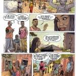 Extrait d'Afro-Bulles n°1.
