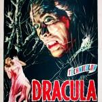 """Affiche italienne pour """"Dracula"""" (1958)"""