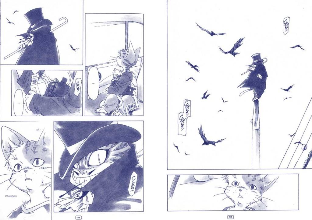 La seconde partie de «Bye bye my brother» est en faîte la préquelle de l'histoire écrite après la première partie afin de compléter les pages du recueil.