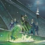 Visuel pour la réédition 2013 du tome 2 et maquette finalisée