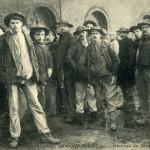 Groupe de mineurs sauveteurs