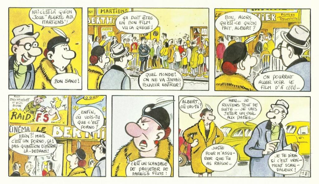 Strips parus dans le quotidien Le Matin de Paris, en 1982.